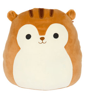 "7"" squishmallow sawyer squirrel"