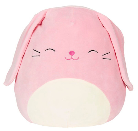 Bop Pink Bunny, Squishmallow, plush toys, comfort, support,  couch companions, pillow pals, bedtime buddies, travel teammates buddy, children, Easter, 5""