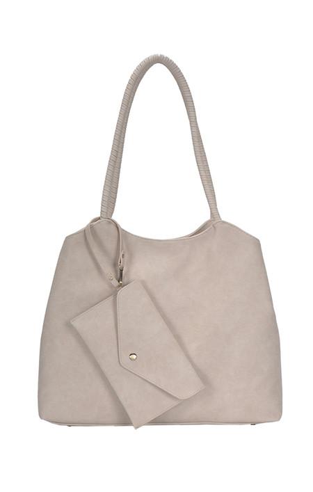 bone, bag, purse, wallet, front