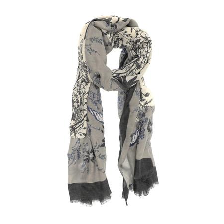 light grey, light, spring, scarf, 180 x 75cm
