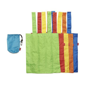 """Reusable shopping bag, shopping, 7.3 x.3.5"""" each, set of 5, environment"""