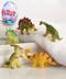 Dino fizzy egg, bathtime, play, water, kids, 3X2(in)