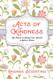 Book, acts of kindness, random, inspiring, generosity