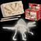 Dinosaur, T-rex, Triceratops, kit, glow, excavation tool, plaster, earth, assemble