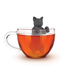 Tea infuser, cat, purr, loose tea leaves