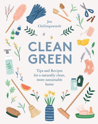 Clean green, book, how to, natural, sustainable home Dimensions:  6.2 x 4.9 x 0.8 inches  Page Count: 160