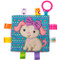 Taggies, soother, activity toy.  Size:  6.5″ x 6.5″