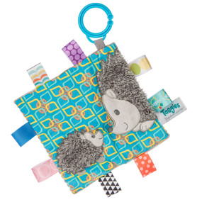 taggies, hedgehog, soother, activity toy,  6.5″ x 6.5″