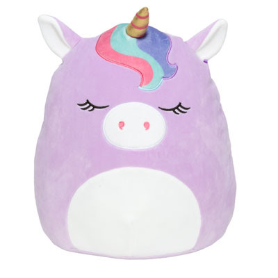 "8"" unicorn bangs squishmallow"