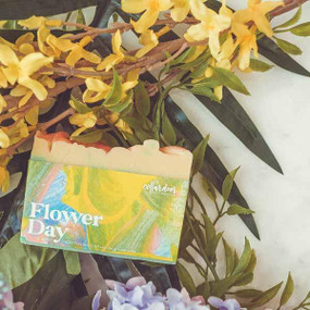 flower day spring soap