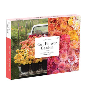 cut flower garden 500 piece double sided puzzle