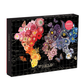 jigsaw puzzle, 1000 pieces, flowers, bloom