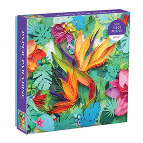 paper paradise 500 piece puzzle