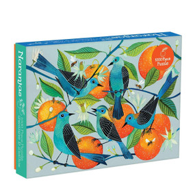 naranjas birds & oranges 1000 piece puzzle