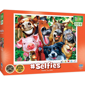 This Selfies puzzle of Barnyard Besties is the perfect challenge for older kids.