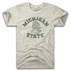 mitten state michigan state sparty tee