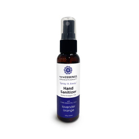 100% pure essential oil hand sanitizer, Alcohol Antiseptic 70%, -Glycerin, Vitamin E & Lavender