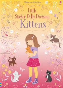 little stickers dolly dressing kittens, book, kids, girls