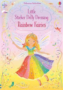 little stickers dolly dressing rainbow fairies, kids, girls