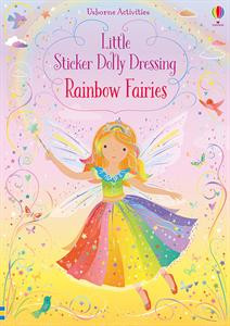 little stickers dolly dressing rainbow fairies, kids, girls