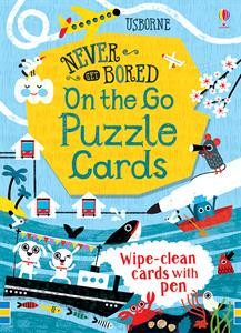 never get bored: on the go puzzle cards