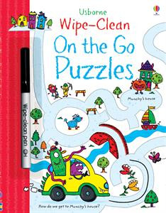 wipe clean on the go puzzles