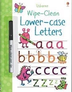 wipe clean lower case letters