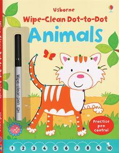 wipe clean dot-to-dot animals