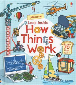 Look Inside - How Things Work, book, kids, curiosity