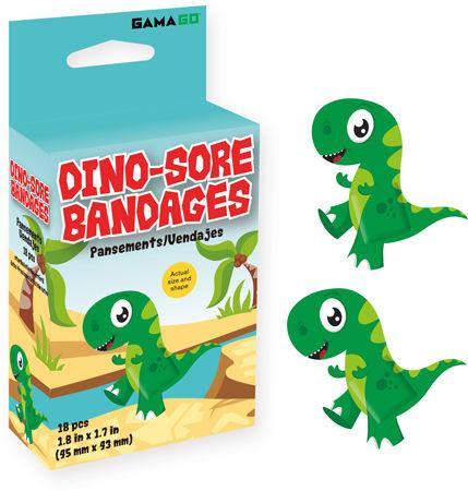 dino-sore bandages, 18 bandages, kids