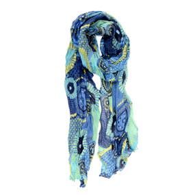 fall dots and daisy scarf