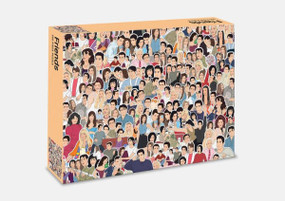 friends 500 piece puzzle, tv show