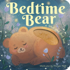 bedtime bear touch & feel board book, front cover