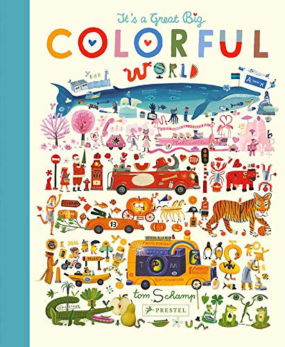 it's a great big colorful world, children's book