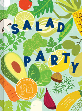 salad party, recipes, front cover