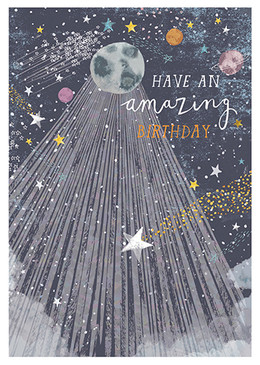 stars are aligned birthday card