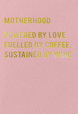 motherhood new mom card, mother's day card