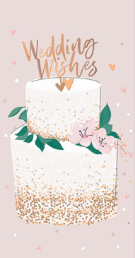 wedding cake money wallet wedding card