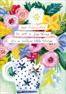 little things friendship card