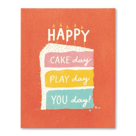 happy cake day birthday card