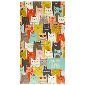 2021-22 cats 2 year pocket planner (24 mos.), front cover