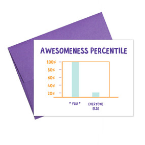 awesomeness percentile | friendship