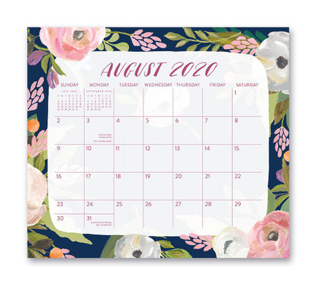 bella flora 2021 magnetic monthly pad