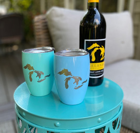 great lakes insulated wine tumbler