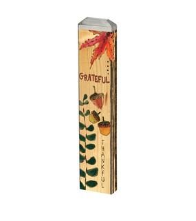 "grateful greeting 13"" mini art pole"