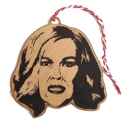catherine o'hara ornament