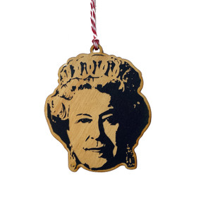the queen ornament