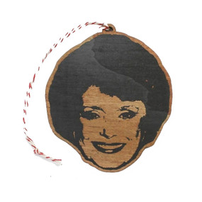 golden girls - rue mcclanahan ornament, Golden Girls