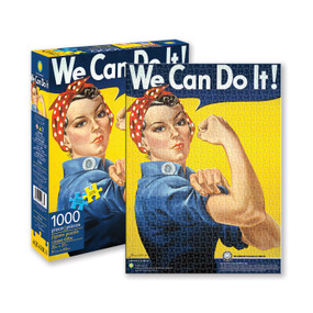 rosie the riveter 1000 piece puzzle