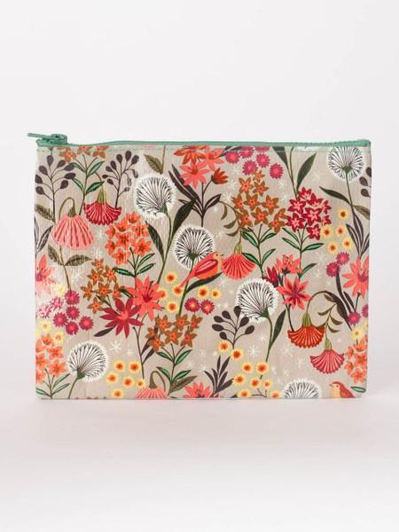 dandelion zipper pouch